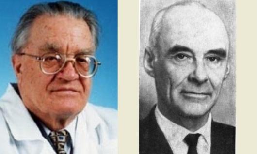 Влаиль Казначеев и Николай Козырев