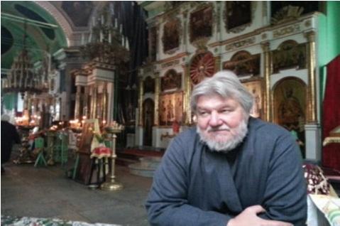Отец Виктор в Быньгах