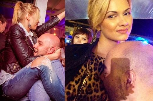 Блондинки тусят в клубе