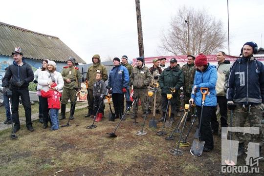 На XII слете поисковиков в Печерском: общее построение