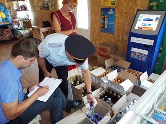 В Башкирии закрыли место продажи нелицензионного алкоголя