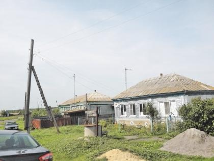 Улица Мичуринская села Липяги - ближайшая к источнику утечки