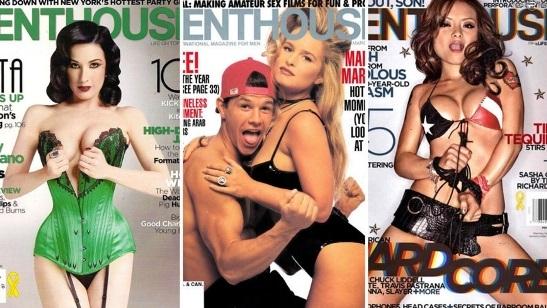 звезды кино и певицы в порно фото журнале пентхаус