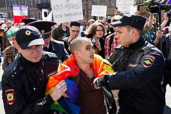 Акция секс меншинств в тольяти