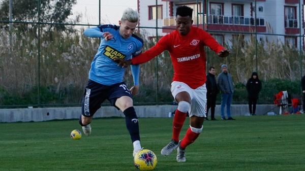 Самарские «Крылья Советов» выиграли в первом контрольном матче в Турции