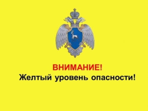 В Самарской области объявили «Желтый уровень опасности»