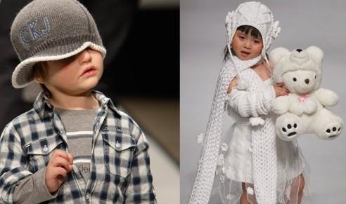 Модные детки вязание