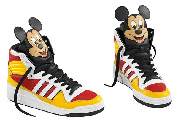 Adidas by Jeremy Scott.
