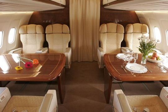 Внутри самолетов богачей Дайджест темы.  50 лучших сообщений.