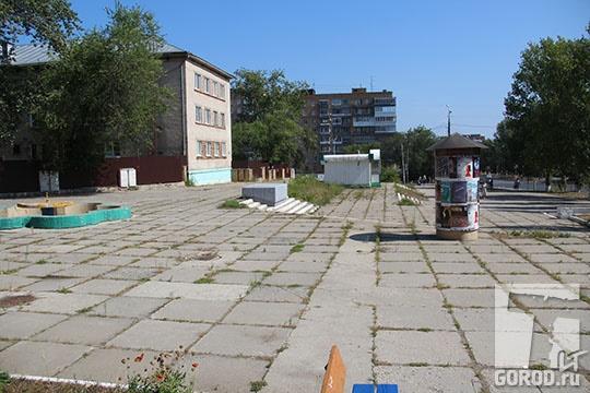 Здесь будет сквер Вадима Леванова